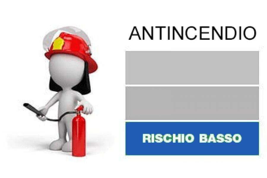 Corso Antincendio – Rischio Basso