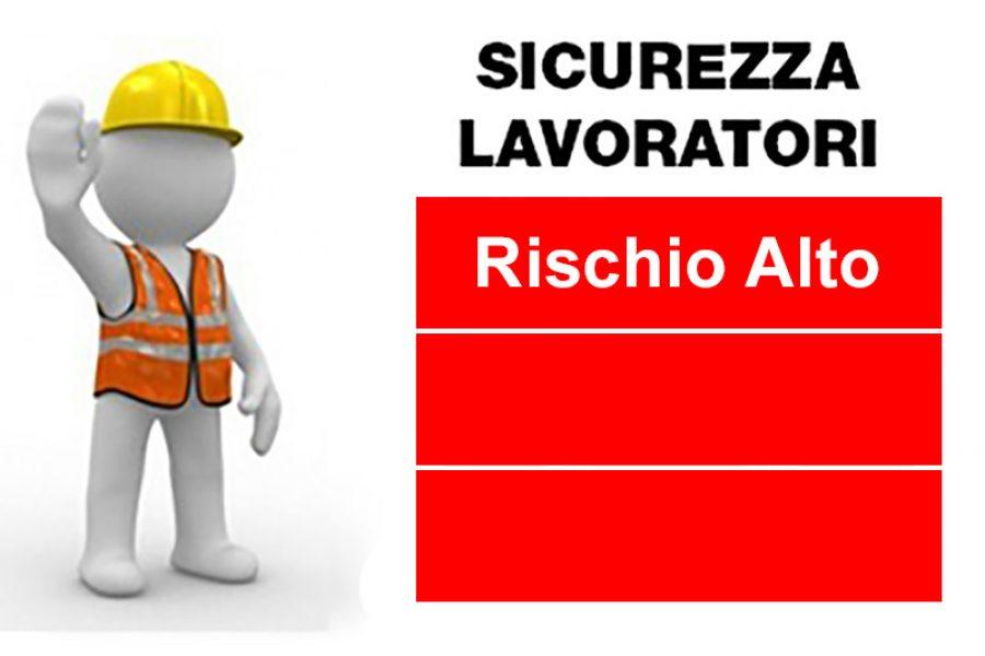 Corso Sicurezza Lavoratori – Rischio Alto